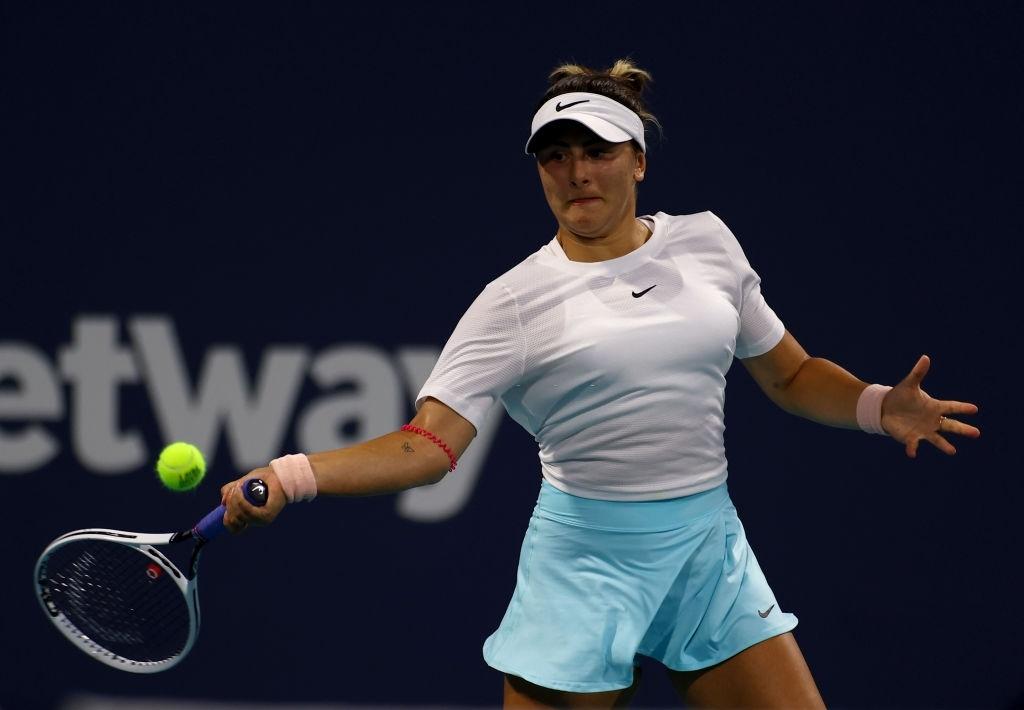 WTA Miami: Bianca Andreescu fights past Amanda Anisimova in a three-set epic