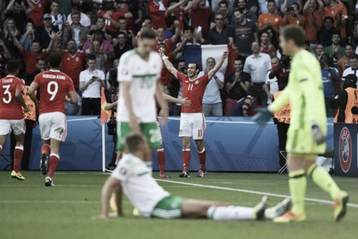 País de Gales supera Irlanda do Norte em clássico britânico histórico e segue na Eurocopa