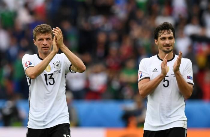 Irlanda del Nord-Germania, le voci al termine del match