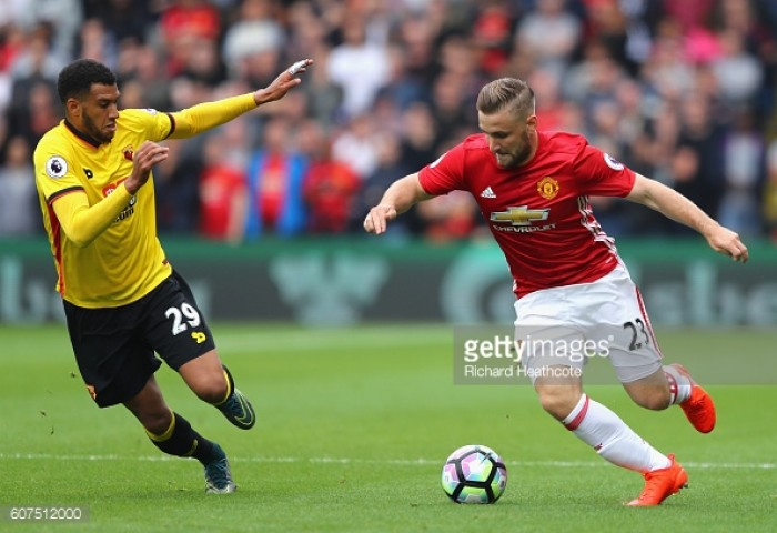 Luke Shaw out of Northampton clash with groin tear