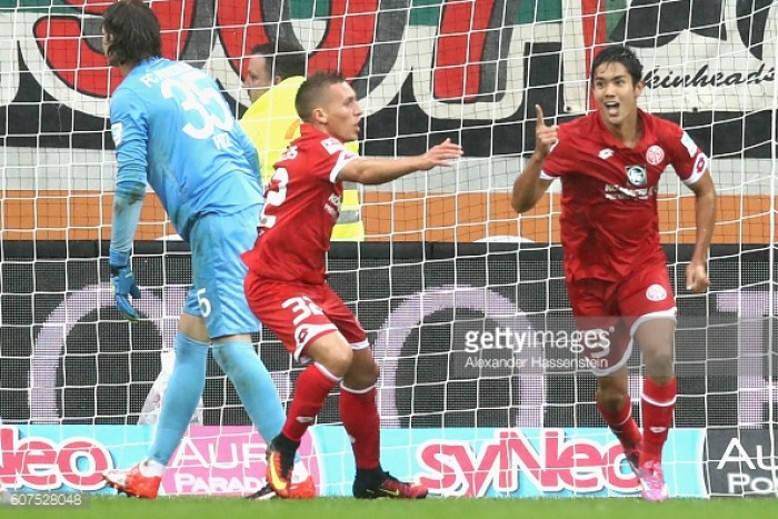 FC Augsburg 1-3 1. FSV Mainz 05: Die Nullfünfer show real steel to earn first win of the season