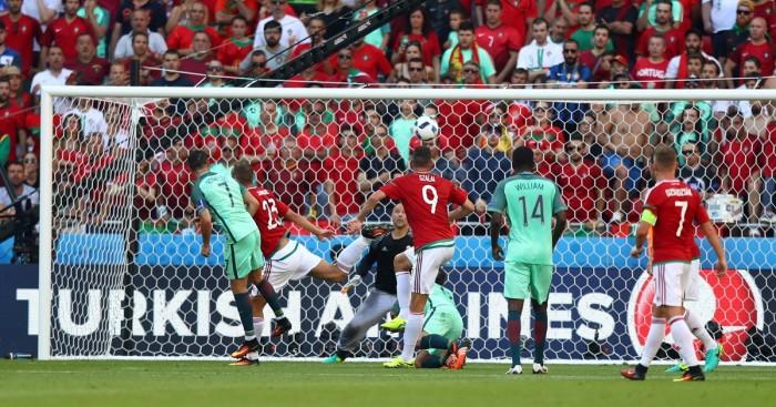 Ronaldo salva il Portogallo, 3-3 con l'Ungheria