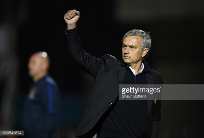 "Mourinho praises Manchester United's ""positive performance"" after EFL Cup victory against Northampton"