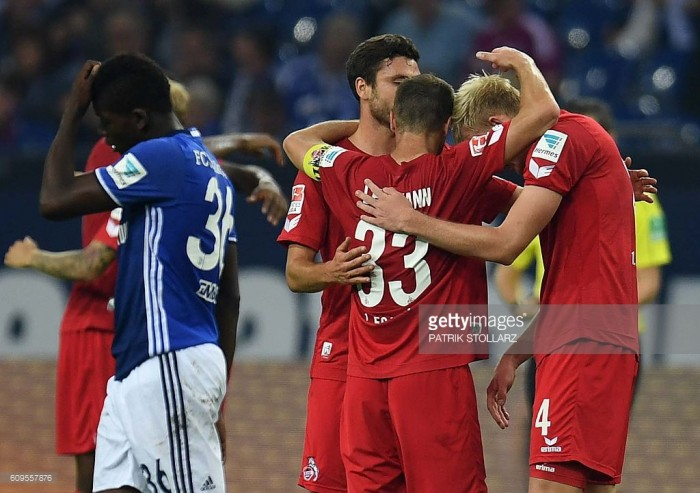 Schalke 04 1-3 1. FC Köln: Billy Goats elated as crisis grows in Gelsenkirchen