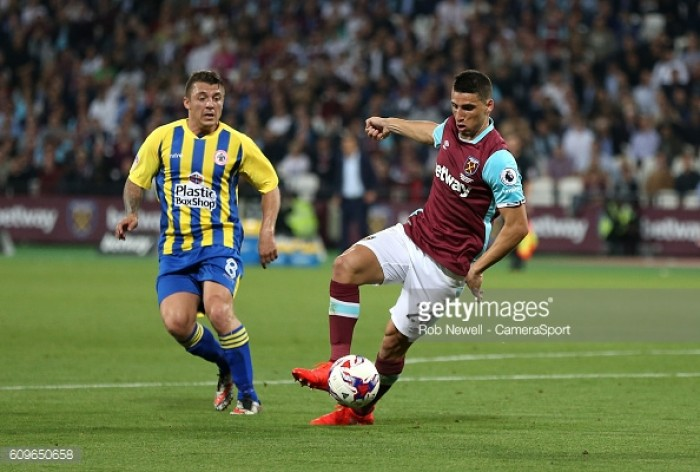 My best is yet to come for the Hammers, insists on-loan striker Jonathan Calleri