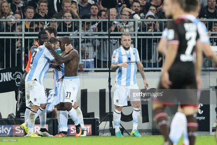 FC St. Pauli 2-2 1860 Munich: Andrade saves a point with super strike