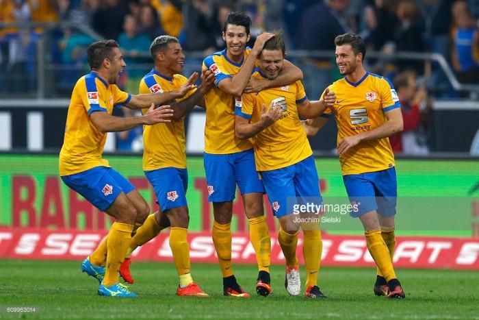 Eintracht Braunschweig 2-1Fortuna Düsseldorf: Reichel's volley caps another win for Die Löwen