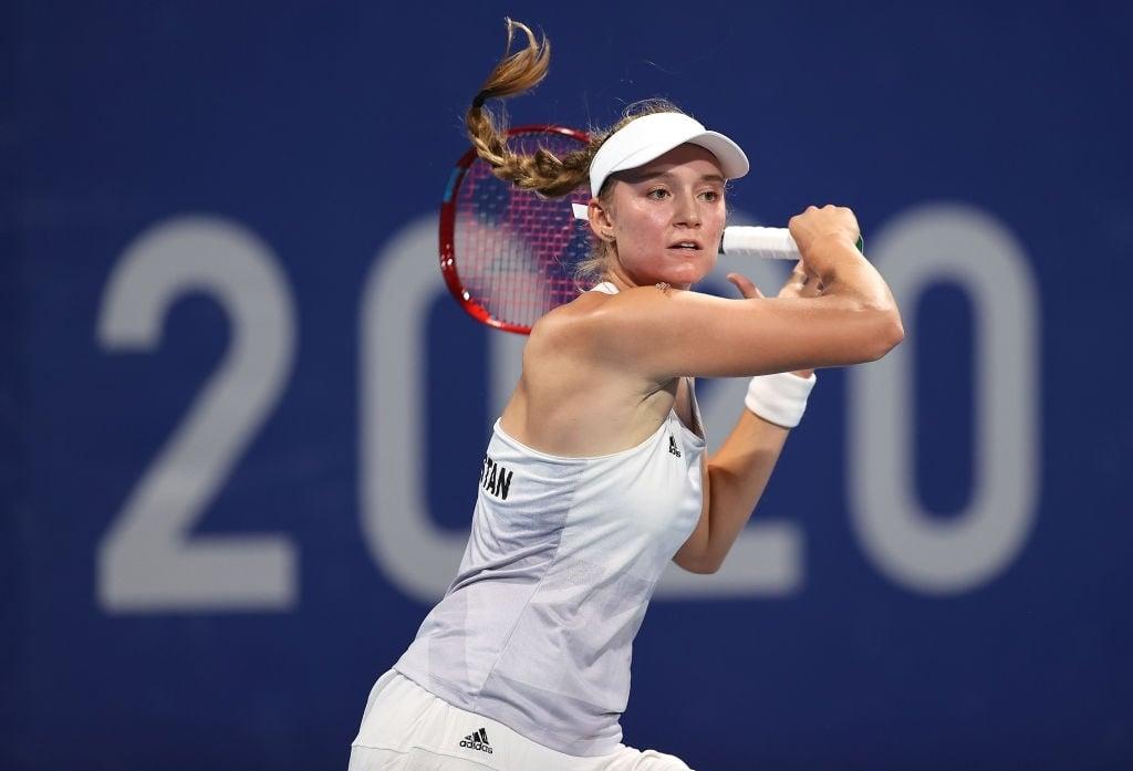 Tokyo 2020: Elena Rybakina sees off Donna Vekic to complete quarterfinal line-up