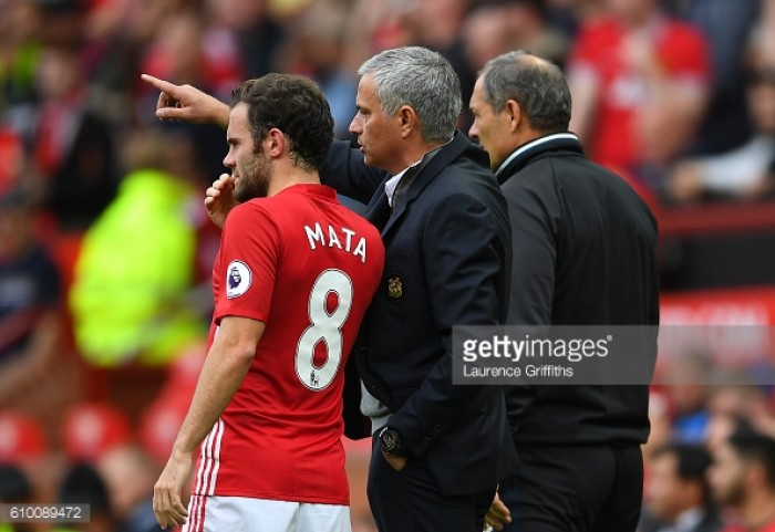 Juan Mata at home at Manchester United and more important than ever, says Mourinho