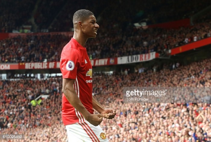 Marcus Rashford's biggest aim is Champions League success with Manchester United