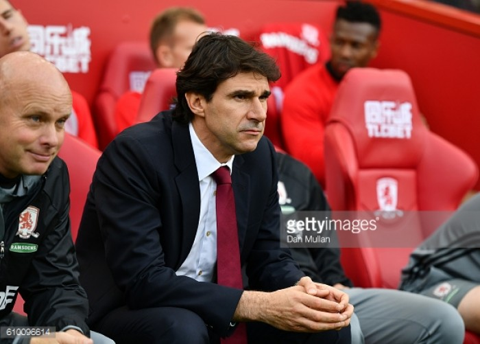 Every point is gold for Middlesbrough, insists Aitor Karanka