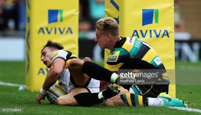 Aviva Premiership round-up: Wasps make it four wins from four with Franklin's Gardens success