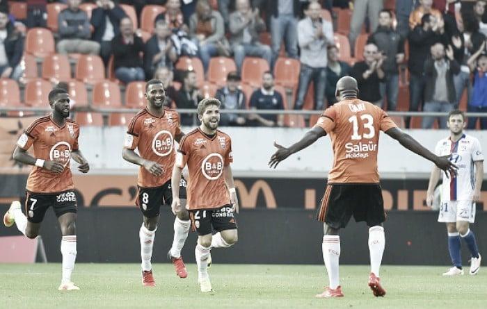 Lorient derrota Lyon com gol solitário e deixa zona de rebaixamento da Ligue 1