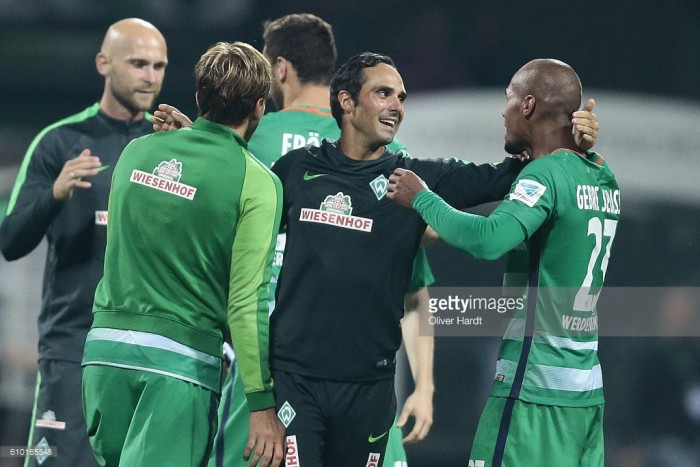 Werder Bremen coach Alexander Nouri given backing by Gebre Selassie