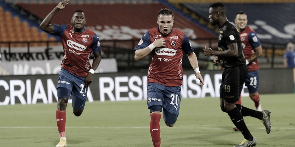 Juan Pablo Gallego, el hombre gol en un nuevo y pálido empate del Medellín