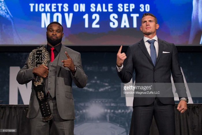 UFC 205: Tyron Woodley vs Stephen Thompson preview
