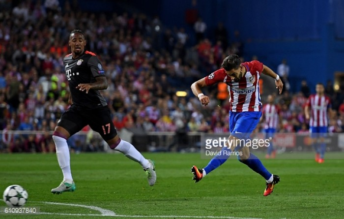Atletico Madrid 1-0 Bayern Munich: Carrasco strike seals home win over German giants