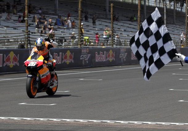 MotoGP:  ad Indianapolis splendida vittoria di Pedrosa