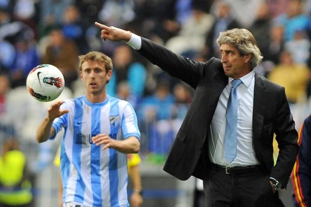 Pellegrini inscribe a cuatro canteranos en la previa de la Champions League