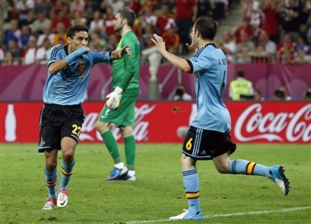 L'Espagne en quarts dans la douleur