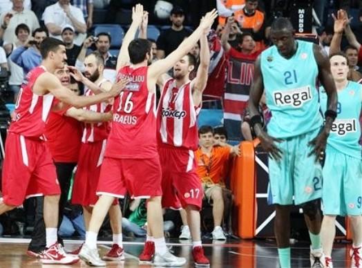 L'Olympiacos raggiunge il CSKA in finale