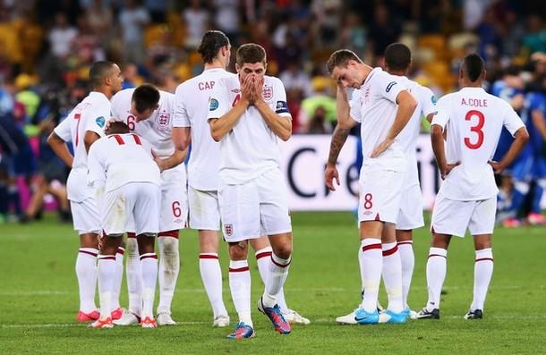 Inglaterra - Italia, puntuaciones de la selección inglesa