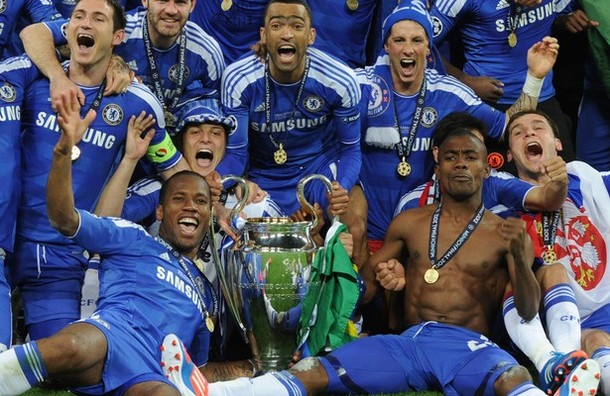Chelsea win Champions League in Munich