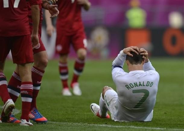 Portugal vence a Dinamarca pese a los fallos de Ronaldo
