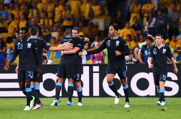 Inglaterra - Suecia. Puntuaciones de la selección inglesa