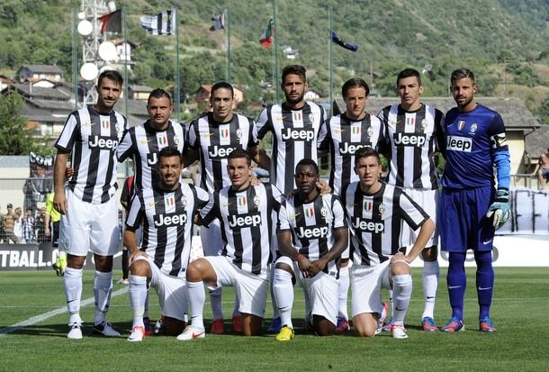 Juventus-Aygreville, termina 7-1 il primo test della squadra di Conte