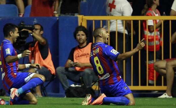 Levante - Atlético de Madrid. Puntuaciones Levante, jornada 1