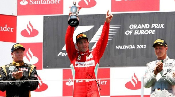 Gp Europa: Alonso show, rimonta e vittoria