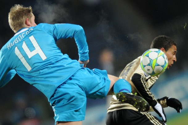 Le Zenit prend une option