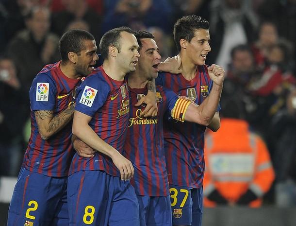 Le Barça, réduit à dix, vient à bout du Sporting