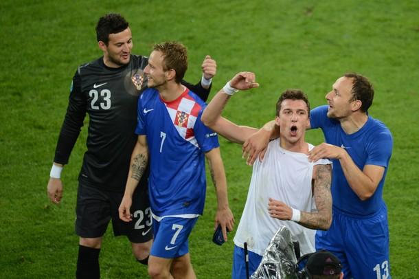 La Croatie prend la tête
