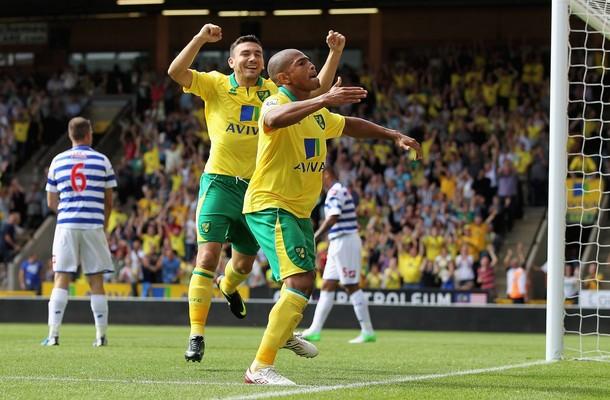 El Q.P.R. salva un empate ante el Norwich en Carrow Road