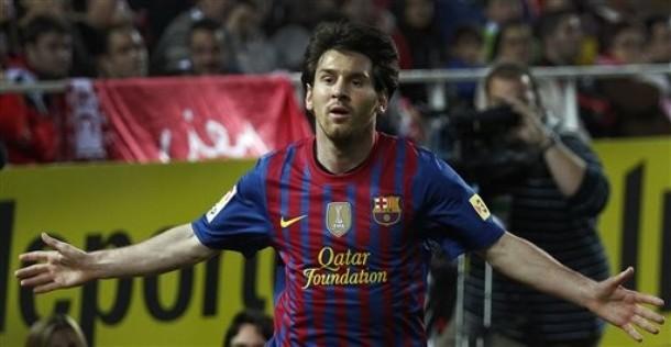 El FC Barcelona hace oficial que Messi está a un sólo gol de César