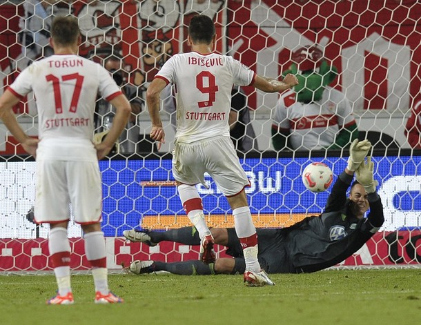 El Wolfsburgo saca petróleo frente al Stuttgart (0-1)