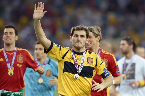"""Casillas: """"Vivimos el momento más maravilloso del fútbol español"""""""
