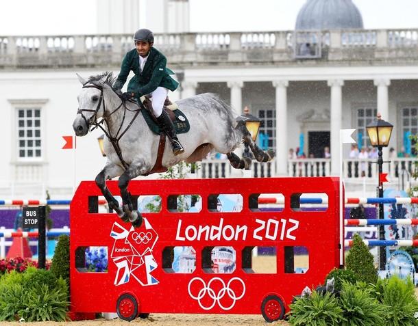 Arabia Saudí y Gran Bretaña, favoritos para las medallas en salto de hípica