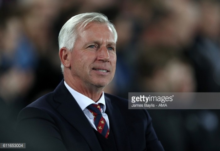 Pardew enthused by Scott Dann return