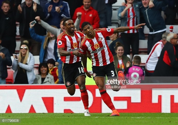 Sunderland 1-1 West Bromwich Albion: Van Aanholt saves point for Black Cats against Baggies
