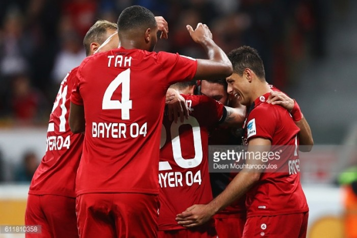 Bayer Leverkusen 2-0 Borussia Dortmund: Mehmedi, Hernandez star in fanatstic all-round team performance from the hosts