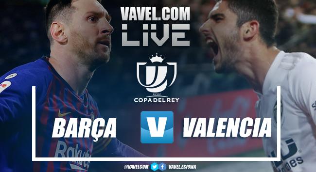 Resumen FC Barcelona vs Valencia CF (1-2)