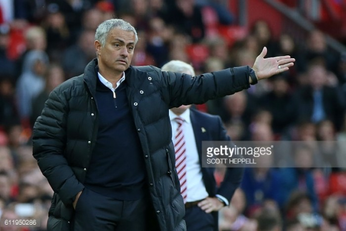 Mourinho insists Manchester United could have won 6-0 after drawing 1-1 with Stoke