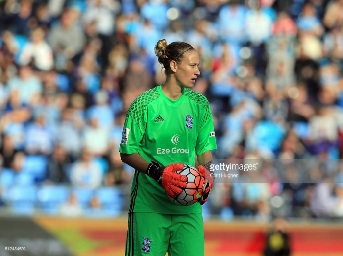 Blues' number one Ann-Katrin Berger diagnosed with thyroid cancer