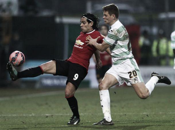 Falcao titular en la victoria del Manchester United