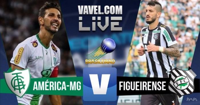 Resultado América-MG x Figueirense no Brasileirão Série A 2016 (1-0)