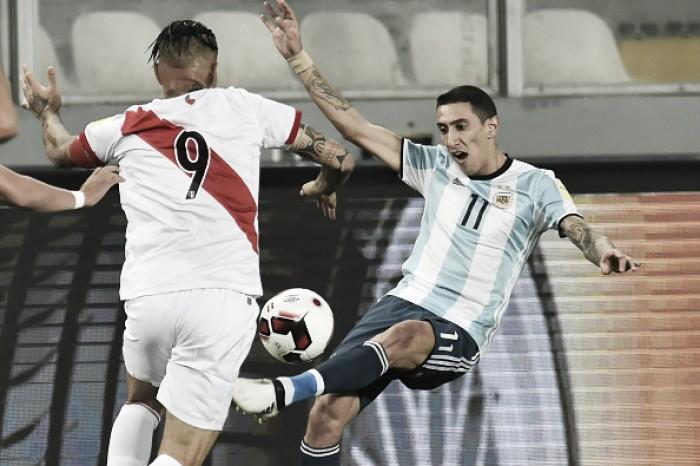 Por vaga no Mundial, Argentina e Peru fazem confronto direto na Bombonera