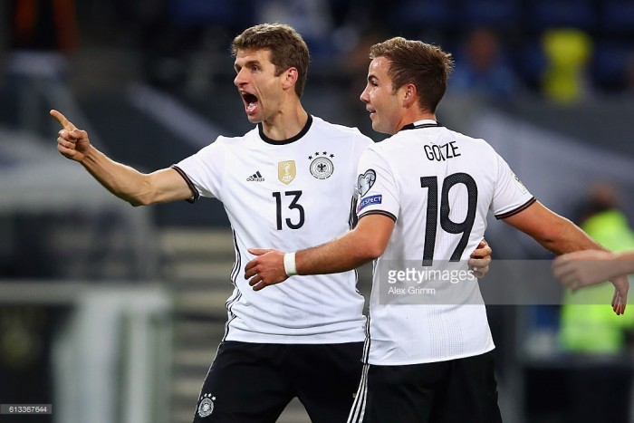 Germany 3-0 Czech Republic: Another Müller double makes it two wins in two